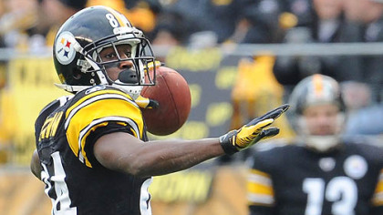 Steelers wide receiver Antonio Brown.