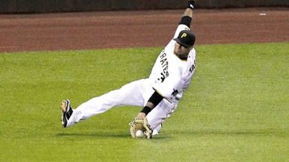 Left fielder Jose Tabata is the only Pirates player signed past 2013.