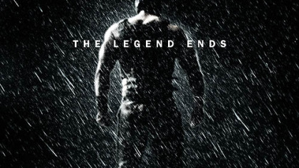 "The second official poster for the film ""The Dark Knight Rises"" features the villain Bane and a torn Batman mask."