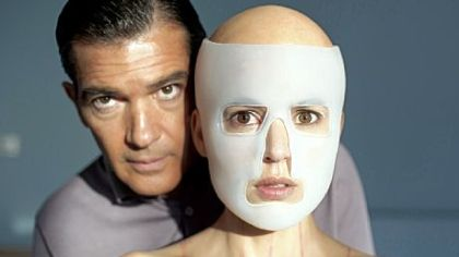 "Antonio Banderas uses Elena Anaya as his human guinea pig in ""The Skin I Live In."""
