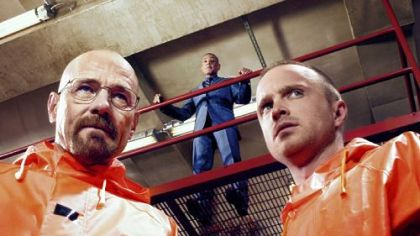 "Performances by Bryan Cranston, left, Giancarlo Esposito and Aaron Paul made AMC's ""Breaking Bad"" oh so good."