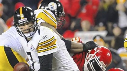 Ben Roethlisberger has been sacked 308 times in 111 games an average of 2.8 per game.