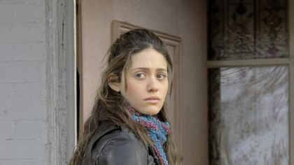 "Emmy Rossum plays Fiona Gallagher in ""Shameless."""