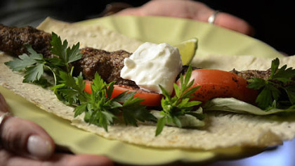 Iranian Skewered Ground Lamb Kebabs. See the recipe in this article.