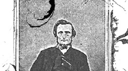 McMillan's great-great-grandfather, the Rev. William McMillan.