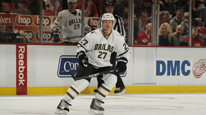 New Penguins forward Jason Williams appeared in 27 games for the Stars last season.