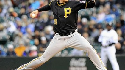 Pirates pitcher Kevin Correia.