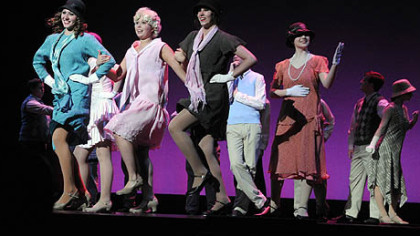"North Hills High School students perform ""I Want to be Happy' from ""No, No Nanette"" at the Gene Kelly Awards."