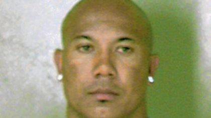 A photo released by the DeKalb County sheriff's office of Hines Ward after his arrest