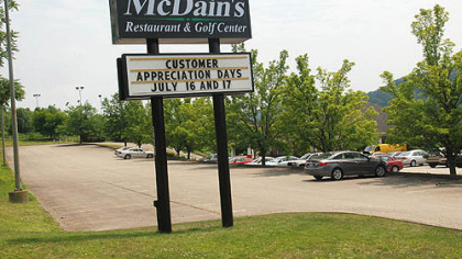 McDain's Restaurant in Monroeville has announced that it is barring children under 6 years old from dining there.