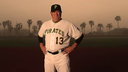 Pirates manager Clint Hurdle.