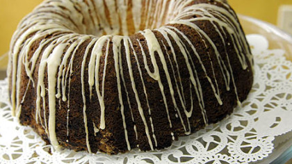 Sour-cream coffee cake available at the Mediterra Bakehouse in Robinson.