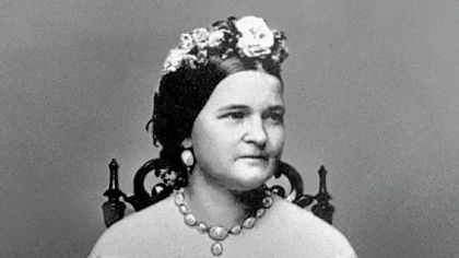 "Mary Todd Lincoln: ""Mrs. Lincoln does not chew snuff, does not dress in outre style, does not walk 'al a Zouave,' does not use profane language, nor does she on any occasion, public or private, kick up shindies."""