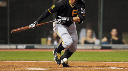 Pirates shortstop Ronny Cedeno.