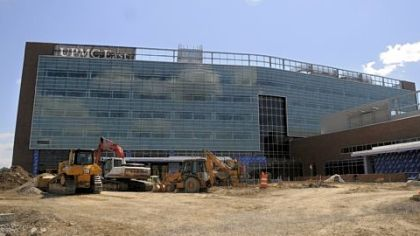 The new UPMC East hospital in Monroeville is scheduled to open in July 2012.