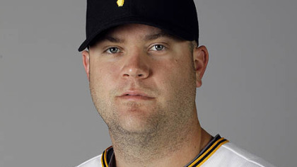 Pirates catcher Chris Snyder