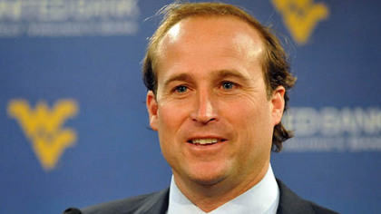 West Virginia head coach Dana Holgorsen.