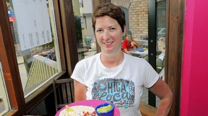 Megan McNeish is owner of Chica Loca Taco in Shadyside.