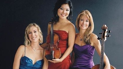 Eroica Trio will join the PSO in concerts Sept. 30-Oct. 2 at Heinz Hall.
