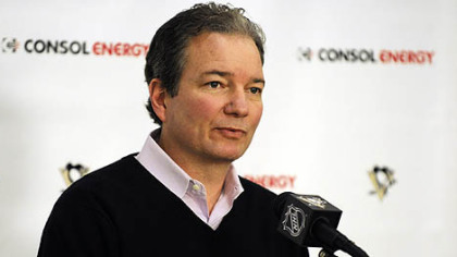 Penguins general manager Ray Shero.