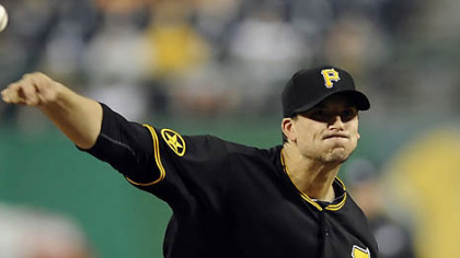 Pirates pitcher Charlie Morton is 4-1 this season.