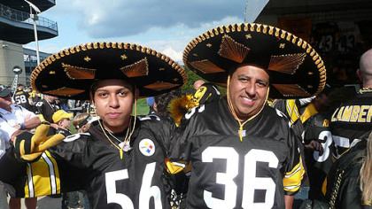 A father and son from Chihuahua, Mexico, came up for the season opener against Atlanta.