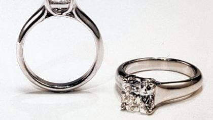 A new engagement ring design from Tiffany & Co.
