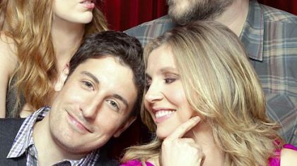 Clockwise from bottom left: Jason Biggs, Judy Greer, Tyler Labine and Sarah Chalke play a couple of couples on &quot;Mad Love,&quot; premiering tonight on CBS.