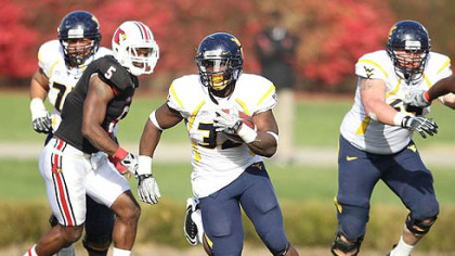 West Virginia running back Ryan Clarke ran for 302 yards last season.