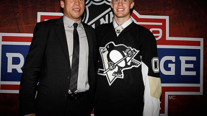 The Penguins selected defenseman Philip Samuelsson, the son of former defenseman Ulf Samuelsson, in the second round of the 2009 draft.