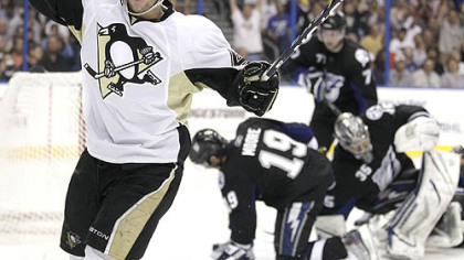 "Penguins forward Tyler Kennedy: ""It's nice to see that we have secondary leadership."""
