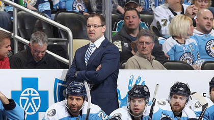 The Penguins signed head coach Dan Bylsma to a three-year contract extension Wednesday.