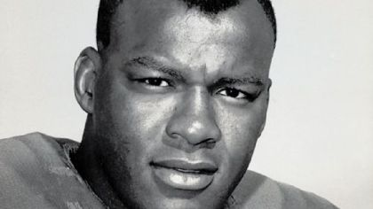 "Carlton Chester ""Cookie"" Gilchrist in 1964."