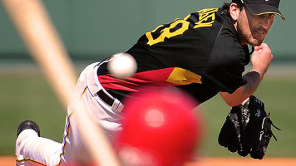 Pirates pitcher Craig Hansen.
