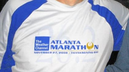 Joe Bujdos is among the 12 who have run in all 21 Pittsburgh Marathons.