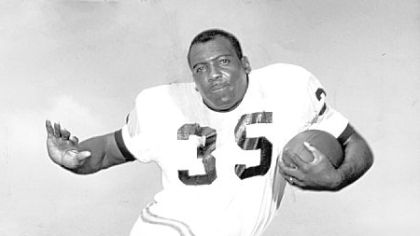 Former Steelers running back John Henry Johnson was inducted into the Pro Football Hall of Fame in 1987.