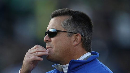 Tulsa head coach Todd Graham.