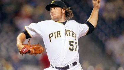Pirates pitcher Daniel Moskos.