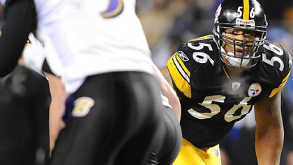 The Steelers could place a franchise tag on linebacker LaMarr Woodley.