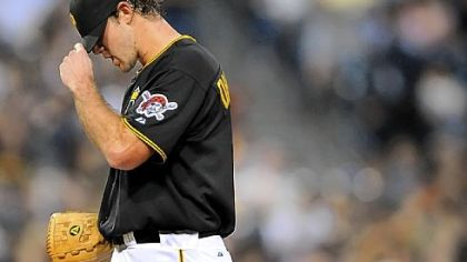 Pirates pitcher Ross Ohlendorf was 1-11 with a 4.07 ERA last season.
