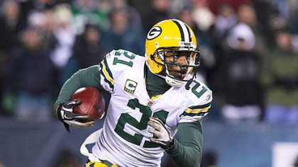 Packers cornerback Charles Woodson has two interceptions this season.