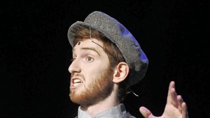 "Luke Halferty from Central Catholic was named Best Actor for playing Tevye in ""Fiddler on the Roof"" at the Kelly Awards on Saturday."