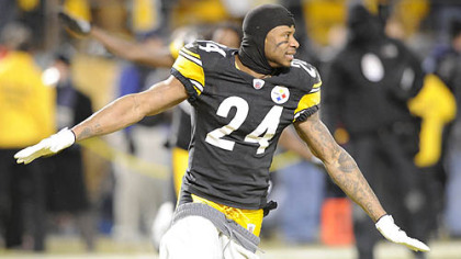 Steelers cornerback Ike Taylor.