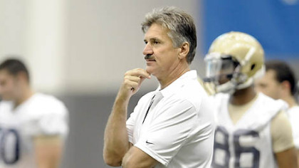 Former Pitt coach Dave Wannstedt.