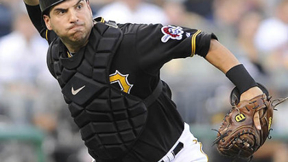 Pirates catcher Jason Jaramillo.