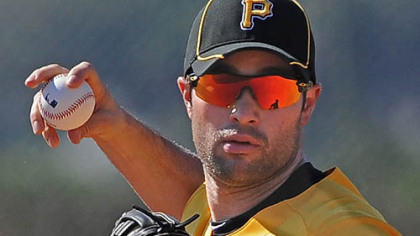 Neil Walker is looking the part of a natural second baseman.
