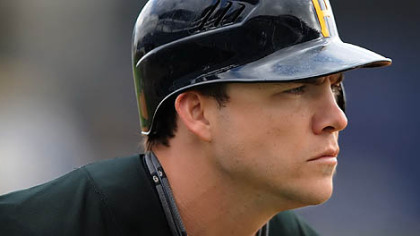 Pirates utilityman Steve Pearce, &quot;I&#039;m going to try my hardest to make this squad somewhere -- outfield, infield, backup off the bench, it doesn&#039;t matter, just somewhere on this squad.&quot;