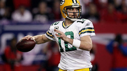 The Packers' Aaron Rodgers has come into his own after three years in Brett Favre's shadow.