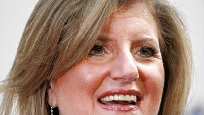 Arianna Huffington, founder of The Huffington Post, acquired earlier this year by AOL for $315 million.