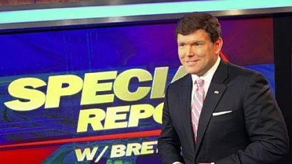 Fox News anchor Bret Bair.